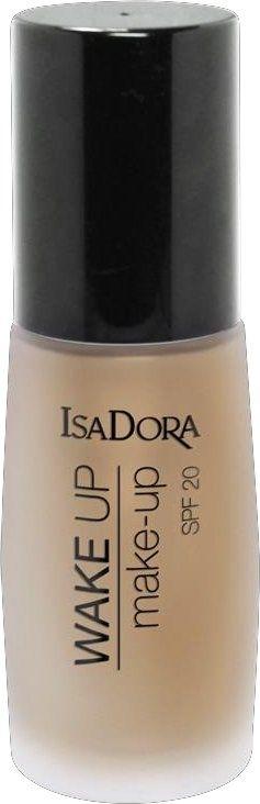 Rozświetlający podkład do twarzy - IsaDora Wake Up Make-Up Foundation SPF 20