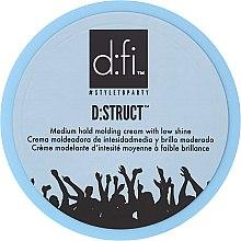 Kup Krem do stylizacji włosów dla mężczyzn Średnie utrwalenie - D:fi D:struct Medium Hold Molding Cream