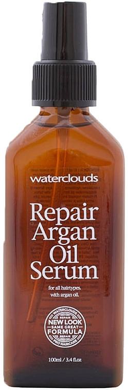 Rewitalizujące serum do włosów z olejem arganowym - Waterclouds Repair Argan Oil Serum — фото N1