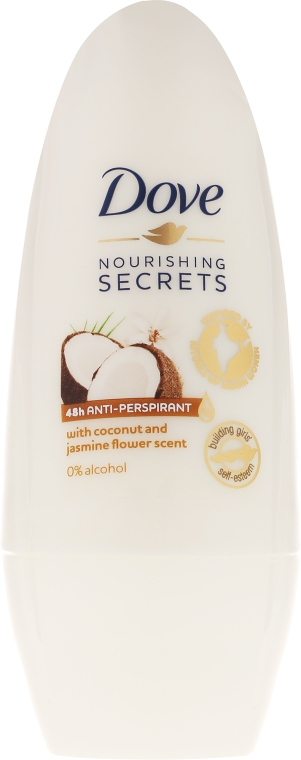 Antyperspirant w kulce Kokos i jaśmin - Dove Nourishing Secrets Coconut And Jasmine Flower 48H Anti-Perspirant