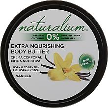 Kup Ekstraodżywcze masło do ciała do skóry normalnej i suchej - Naturalium Vainilla Extra Nourishing Body Butter