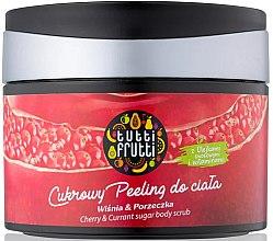 Kup Cukrowy peeling do ciała Wiśnia i porzeczka - Farmona Tutti Frutti Cherry & Currant