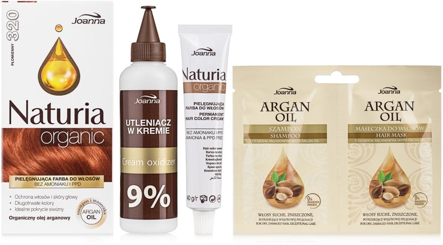 Pielęgnująca farba do włosów bez amoniaku i PPD - Joanna Naturia Organic