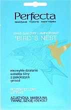 Kup Azjatycka maska na twarz, szyję i dekolt Rozświetlenie i lifting - Perfecta Bird's Nest