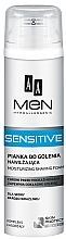 Kup Nawilżająca pianka do golenia do skóry bardzo wrażliwej - AA Men Sensitive