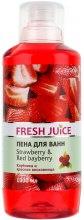 Kup Płyn do kąpieli Truskawka i woskownica czerwona - Fresh Juice Strawberry and Red Bayberry