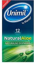 Kup Prezerwatywy, 12 szt. - Unimil Natural Aloe