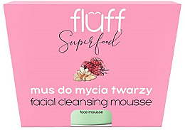 Kup Mus do mycia twarzy Malina i migdał - Fluff Facial Cleansing Mousse Raspberry & Almonds