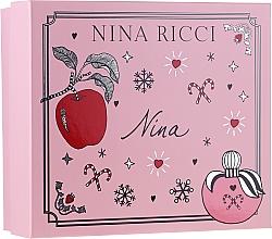 Kup Nina Ricci Nina - Zestaw (edt 50 ml + lipstick 2,5 g)