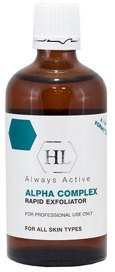 Profesjonalny peeling do twarzy - Holy Land Cosmetics Alpha Complex Rapid Exfoliator — фото N1