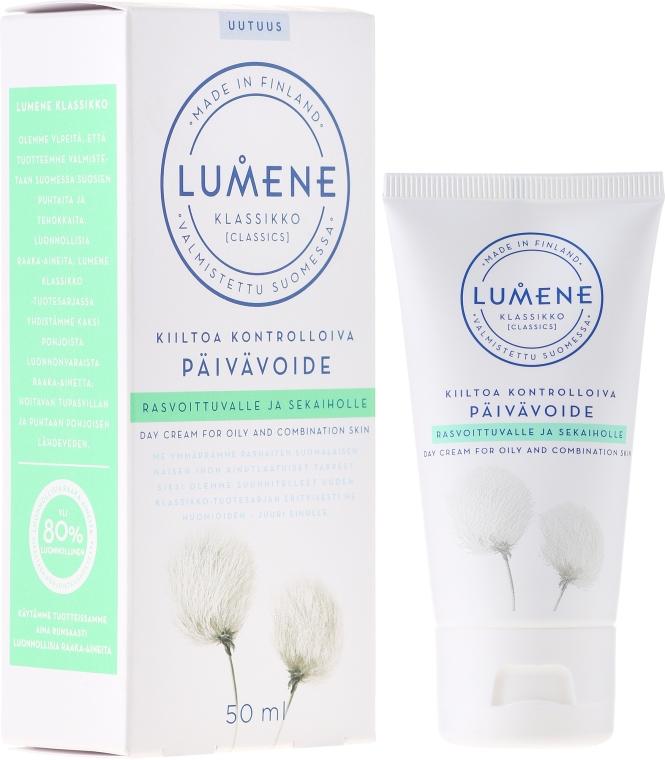 Krem na dzień do cery tłustej i mieszanej - Lumene Klassikko Day Cream