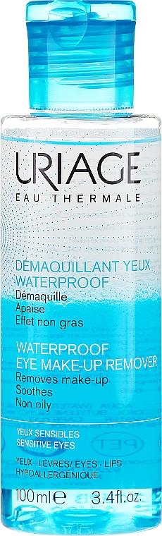 Płyn do zmywania wodoodpornego makijażu - Uriage Waterproof Eye Make-Up Remover — фото N1