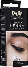 Kup Żelowa henna do brwi (czarna) - Delia Eyebrow