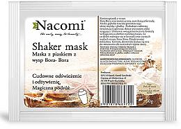 Kup PRZECENA! Maska-shaker do twarzy z piaskiem z wysp Bora-Bora - Nacomi Shaker Mask *