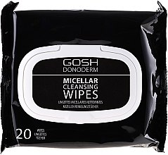 Kup Micelarne chusteczki do demakijażu - Gosh Donoderm Micellar Cleansing Wipes