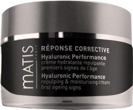 Intensywnie wygładzający krem do twarzy z kwasem hialuronowym - Matis Réponse Corrective Hyaluronic Performance — фото N1