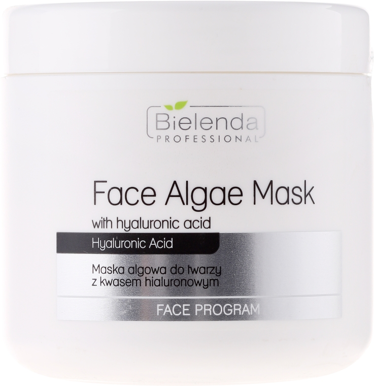 Maska algowa do twarzy z kwasem hialuronowym - Bielenda Professional Face Algae Mask with Hyaluronic Acid