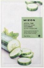 Kup Rozświetlająca maska nawilżająca na tkaninie z ogórkiem - Mizon Joyful Time Essence Mask Cucumber