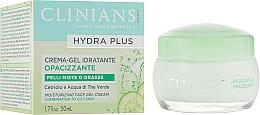 Kup Nawilżający żel-krem do cery tłustej i mieszanej - Clinians Hydra Plus Moisturizing Face Gel-Cream