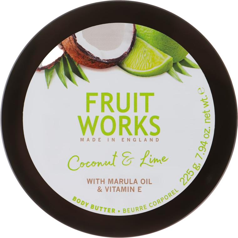 Masło do ciała Kokos i limonka - Grace Cole Fruit Works Body Butter Coconut & Lime — фото N2