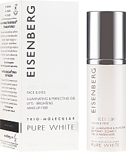 Kup Rozświetlający eliksir do twarzy i krem na kontur oczu - Jose Eisenberg Pure White Face & Eyes Illuminating & Perfecting Gel