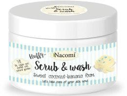 Kup Pianka peelingująco-myjąca Kokos i Banan - Nacomi Scrub And Wash Sweet Coconut-Banana Foam