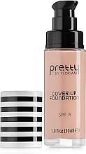 Kup PRZECENA! Podkład do twarzy SPF 15 - Flormar Pretty Cover Up Foundation *