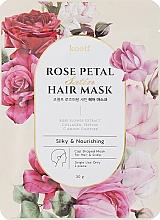 Kup Odżywcza maska w turbanie do włosów - Petitfee&Koelf Rose Petal Satin Hair Mask