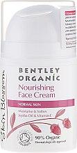 Kup Odżywczy krem do twarzy - Bentley Organic Skin Blosso Nourishing Face Cream