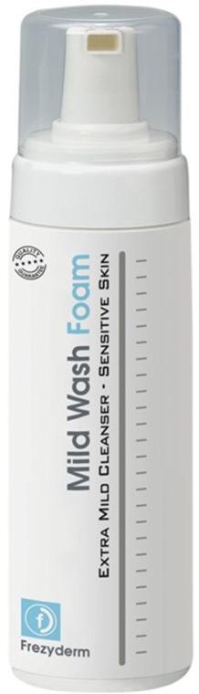 Oczyszczająca pianka do skóry wrażliwej - FrezyDerm Mild Wash Foam — фото N1