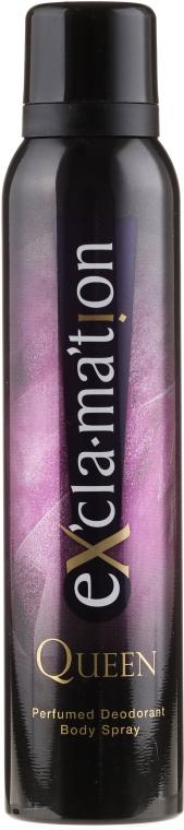 Perfumowany dezodorant w sprayu - Coty Ex'cla-ma'tion Queen — фото N1