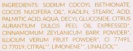 Szampon w kostce do włosów normalnych z Pomarańczą, cynamonem i anyżem - Lamazuna Solid Shampoo For Normal Hair With Orange, Cinnamon & Star Anise — фото N4