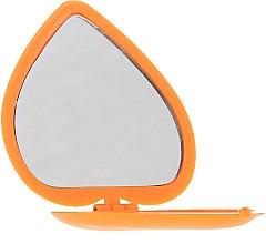 Kup Lusterko kosmetyczne w kształcie serca 85550, pomaranczowe - Top Choice Colours Mirror