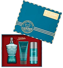 Kup Jean Paul Gaultier Le Male - Zestaw (edt/125ml + ash/balm/50ml + deo/stick/75ml)