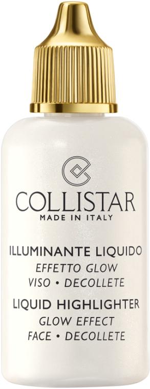 Rozświetlacz - Collistar Liquid Highlighter Glow Effect Face Decollete — фото N2