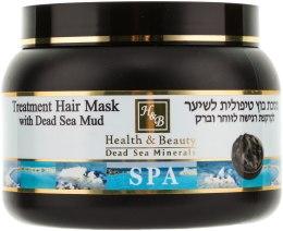 Kup Lecznicza maska do włosów z błotem z Morza Martwego - Health And Beauty Treatment Hair Mask With Dead Sea Mud