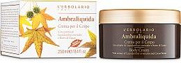 Kup Perfumowany krem do ciała Ambrowiec wschodni i masło kakaowe - L'Erbolario Ambraliquida Crema Per Il Corpo