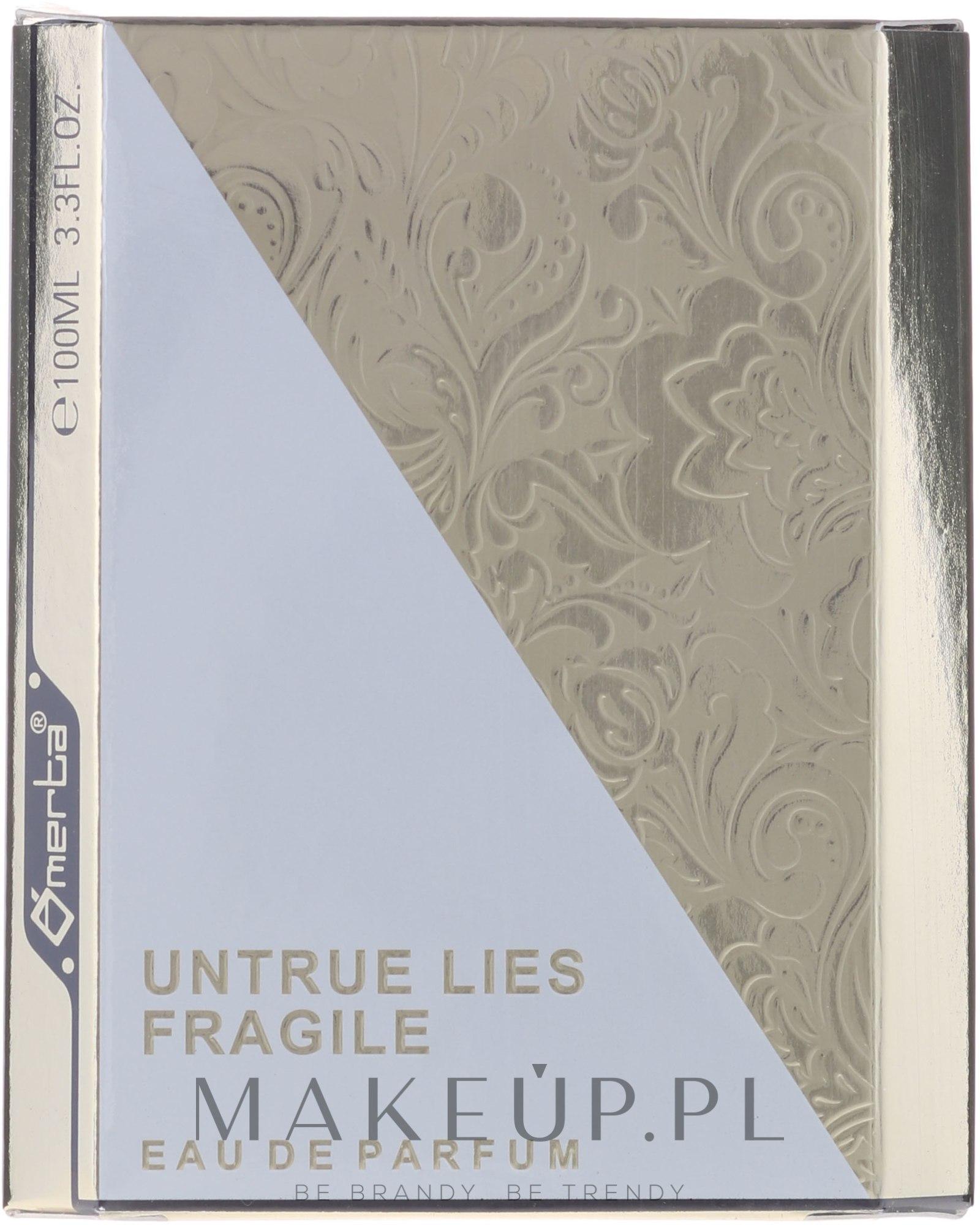 omerta untrue lies fragile