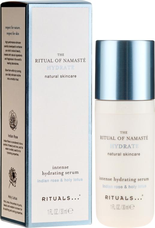 Intensywnie nawilżające serum do twarzy Indyjska róża i lotos - Rituals The Ritual Of Namaste Intense Hydrating Serum  — фото N1