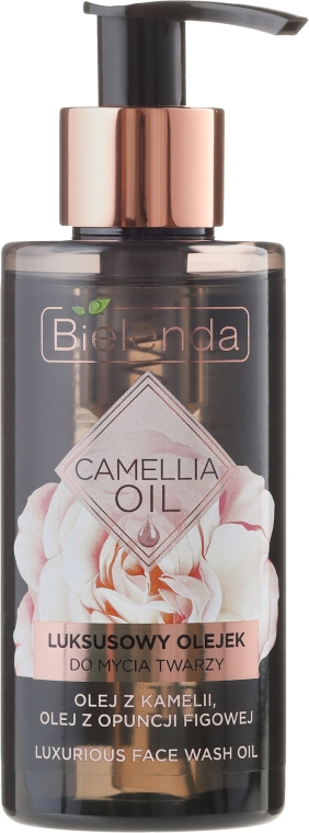 Luksusowy olejek do mycia twarzy - Bielenda Camellia Oil