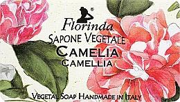 Kup Naturalne mydło w kostce Kamelia - Florinda Sapone Vegetale Camellia