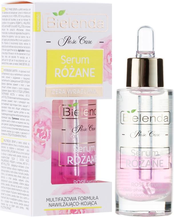 Serum różane do cery wrażliwej - Bielenda Rose Care