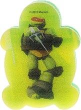 Kup Gąbka kąpielowa dla dzieci, Wojownicze Żółwie Ninja, Michelangelo 4 - Suavipiel Turtles Bath Sponge
