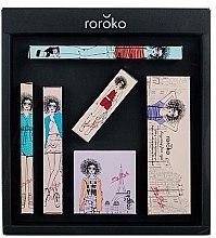 Kup Zestaw do makijażu - Roroko Color Muse Make-up Box (eyebrow/pen 0,4 g + eyeshadow 8 g + eyeliner 0,8 g + blush 6 g + mascara 8 g + lipstick 3,5 g)