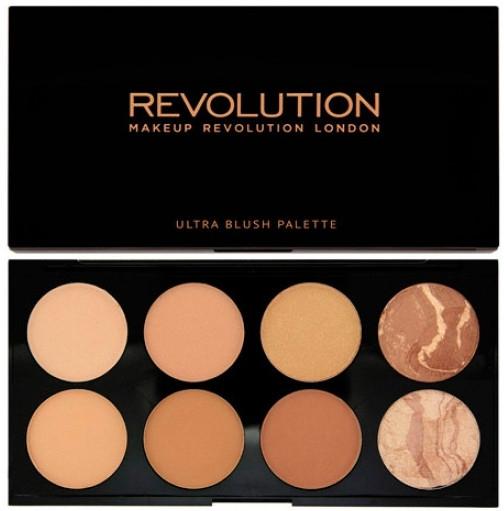 Paleta 8 bronzerów - Makeup Revolution All About Bronze — фото N1