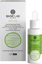 Kup Antyoksydacyjne serum wyrównujące do twarzy z witaminą C 20% Rozświetlenie i wyciszenie - BasicLab Dermocosmetics Esteticus Antioxidant Serum