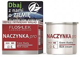 Kup Krem tłusty przeciw zaczerwienieniom do rozszerzonych naczynek - Floslek Dilated Cappilaries Rich Cream Refill (wymienny wkład)