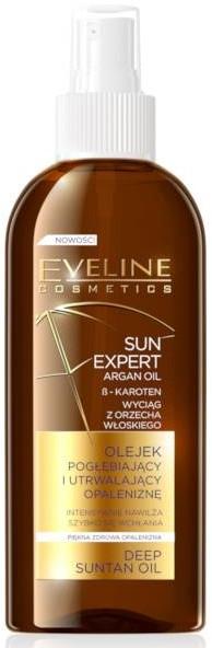 Olejek pogłębiający i utrwalający opaleniznę - Eveline Cosmetics Sun Expert