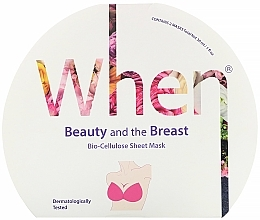 Kup Biocelulozowa i ujędrniająca maska ​​do biustu - When Beauty And The Breast Bio-Cellulose Mask