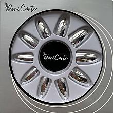 Kup Sztuczne paznokcie, 42411, srebrne - Deni Carte